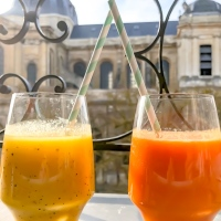 Idées Smoothies #1 le détox orange-carotte-gingembre & l'exotique Mangue-Passion
