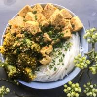 """Recette du monde à tester #2: """"Mapo Tofu"""" revisité à ma façon (vegan & sans: gluten, lactose)"""