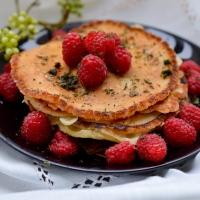 Ma sélection de recette de pancakes #2:  Pancakes légers relevés au rhum, sans: beurre/lactose (option: sans gluten)